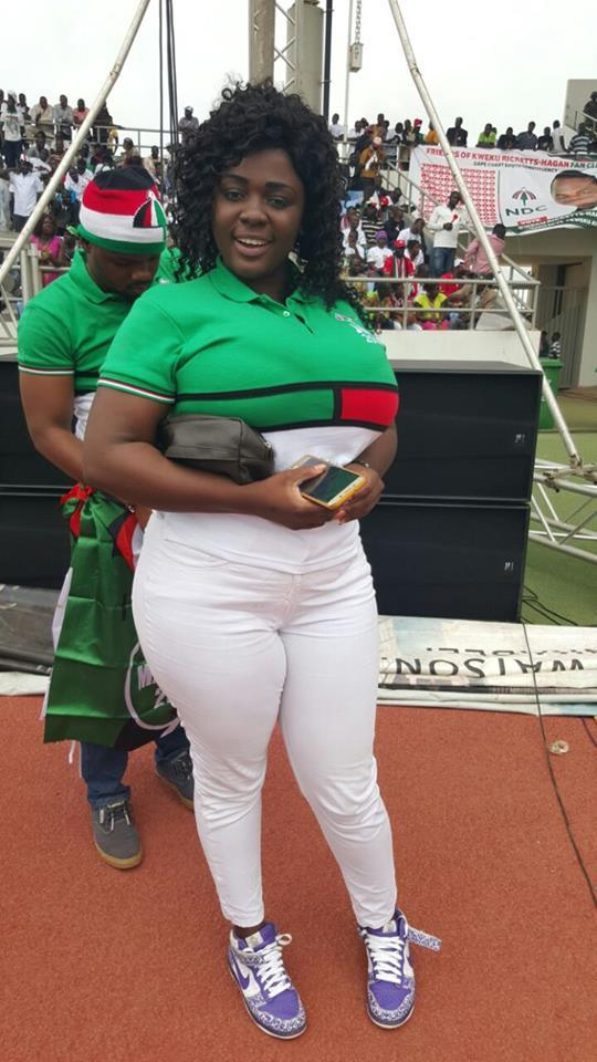 Image result for My Fiancé Sponsored My NDC Campaign - Tracy Boakye